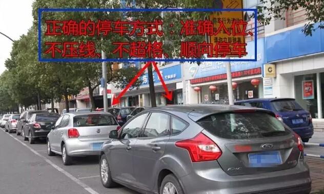 停车位停车都能被罚款,这样停车容易中招!