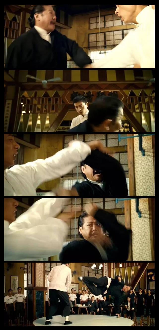 《战狼2》中吴京坚称不用替身被打脸,这图怎么解释
