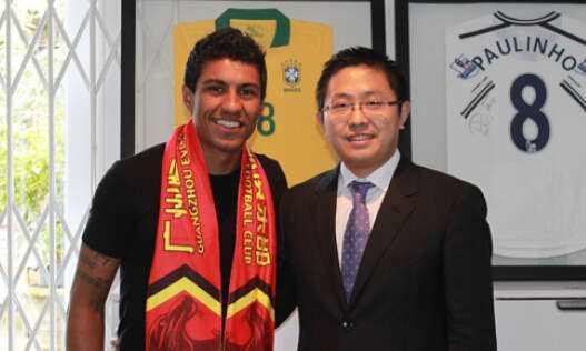 恒大再创中国足球新历史!请叫他们转会之王,能赚钱