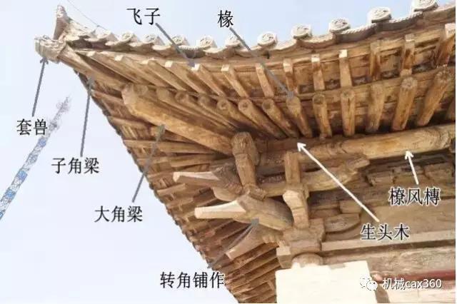 古代匠人的智慧,不用一颗螺丝钉的木结构!
