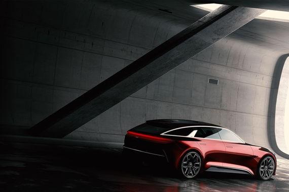起亚全新概念车预告图发布 法兰克福车展首秀