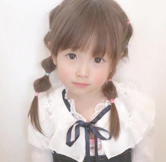 女宝宝发型图片 萌呆又甜美可爱