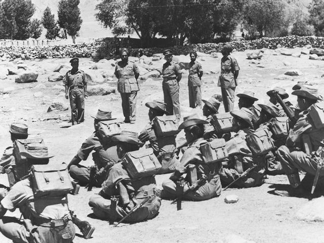 1962年中印战争_印度视角中的1962年中印战争老照片