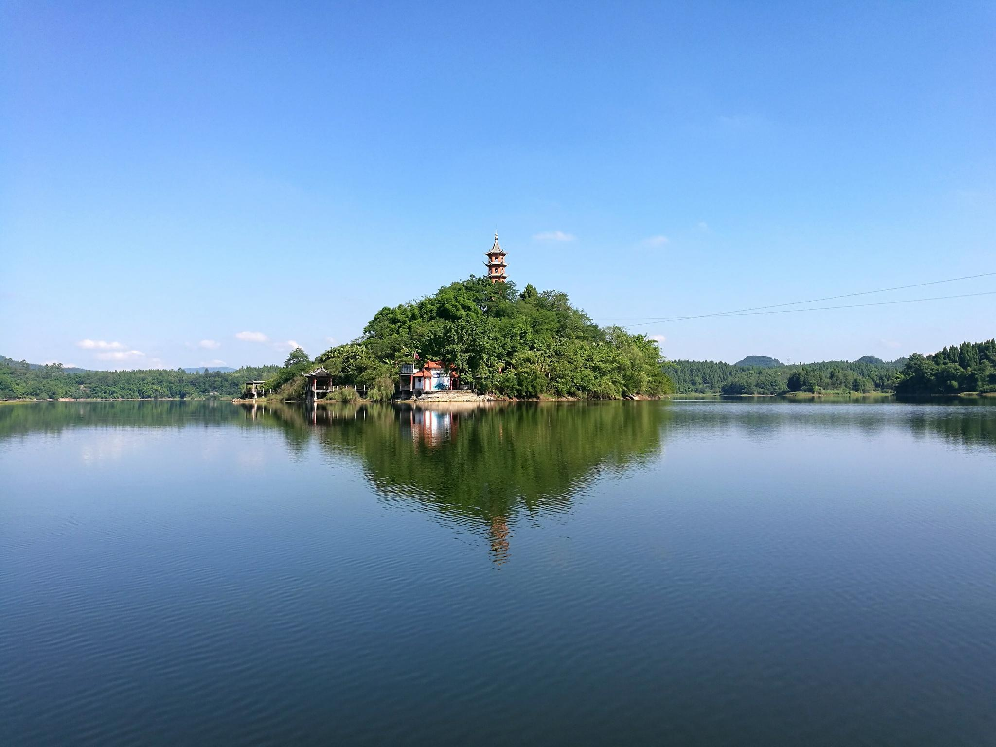 如此美丽的岳池翠湖 你肯定没有见过