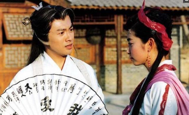 林心如在台湾版《少年张三丰》中饰演冰心,是喜欢苏有朋的痴情女子