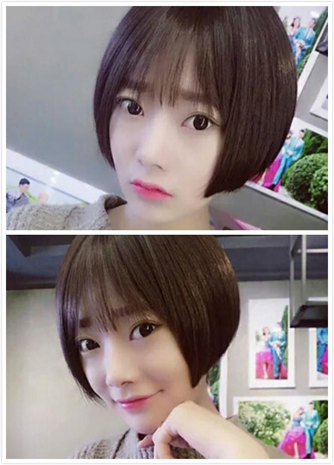 小脸适合哪种短发 六款发型让你美出天际图片