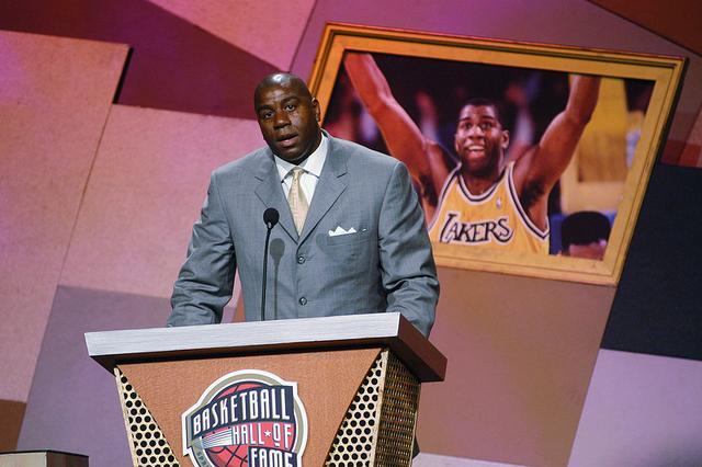 NBA50大巨星之魔术师-约翰逊 强大到本名被人遗忘