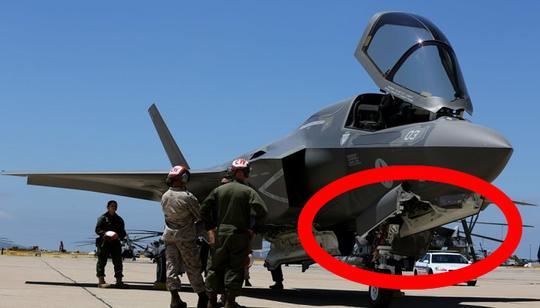F35为何曝光这一重大机密?与中国一武器有莫大关系