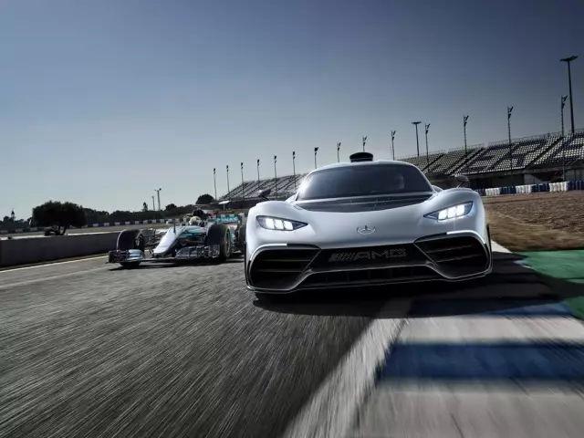 奔驰Project ONE如何实现堪比F1赛车的高性能?