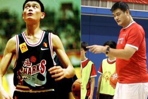 姚明退役6年胖200斤,但此人退役一年就暴瘦100斤!