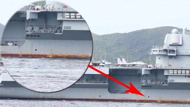 辽宁号航母船体生锈,是保养太差惹的祸?