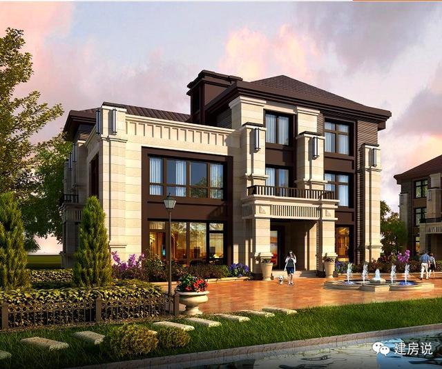 6栋农村别墅设计,5栋豪华实景别墅,让你大饱眼福!