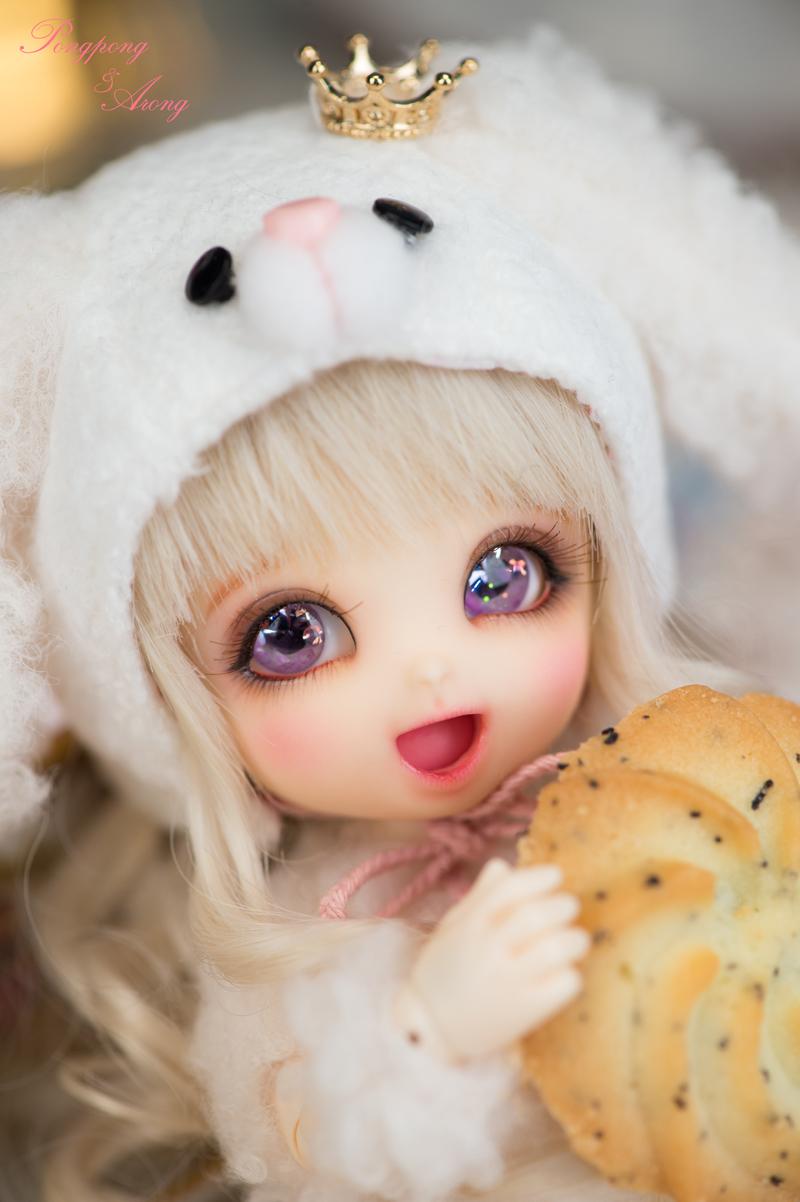 呆萌bjd娃娃,芭比娃娃,小布娃娃,可儿娃娃不如小可爱