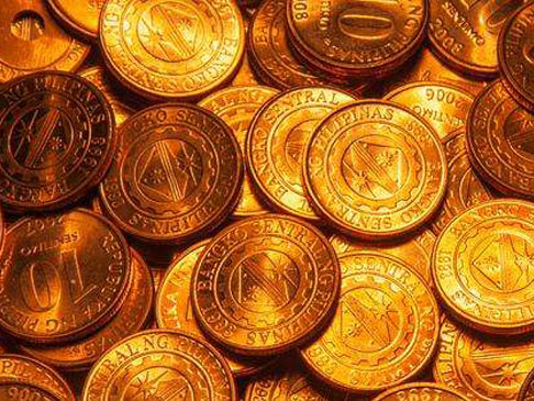 有钱任性!英国父子用3万枚价值670英镑硬币打造马赛克地板
