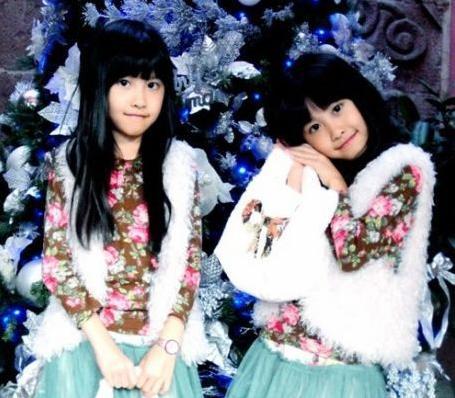 14年前红遍网络的双胞胎姐妹花,如今美成这模样!