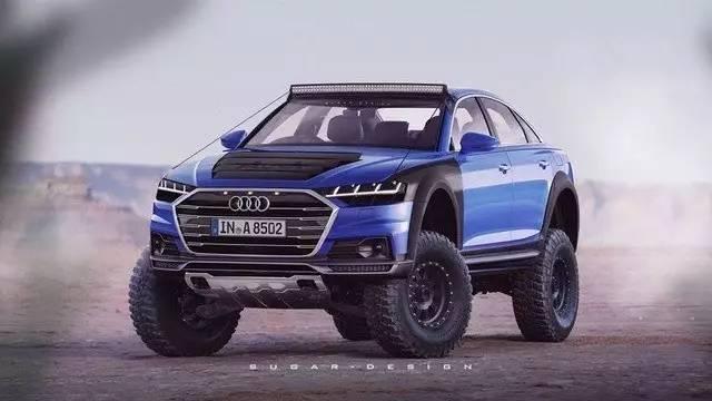 这些车如果能上市,你就可以开着跑车去越野!