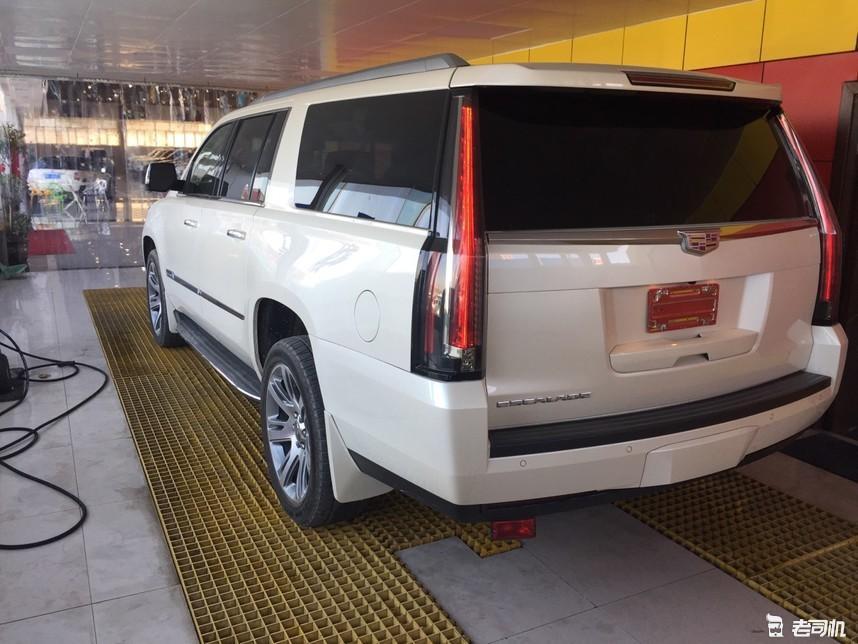 看见这车你得小心点!美式正宗豪华全尺寸SUV