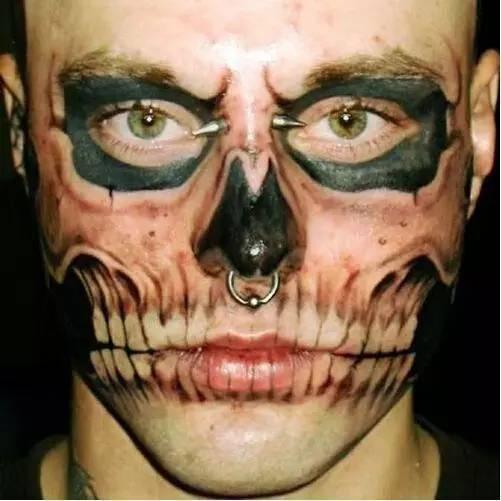 全世界纹身最多的人_罗列全世界最疯狂的纹身,看完后让人怀疑人生!