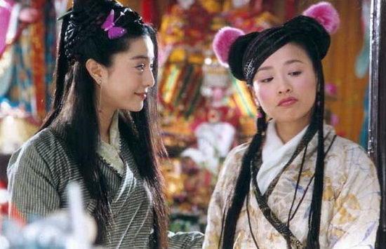 张庭与邱心志,王艳联合主演《聊斋之花姑子》,在里面饰演女一号花姑子