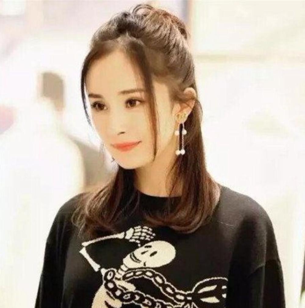 """盘点女星们的""""龙须""""刘海, 迪丽热巴又掀起一股""""发型热图片"""