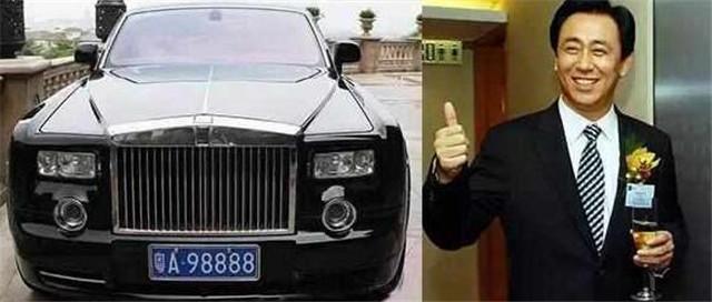 58岁座驾超过马云,豪华车车牌不输王健林