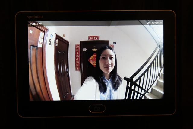 远程监控 安全护家 斑点猫M100智能猫眼体验