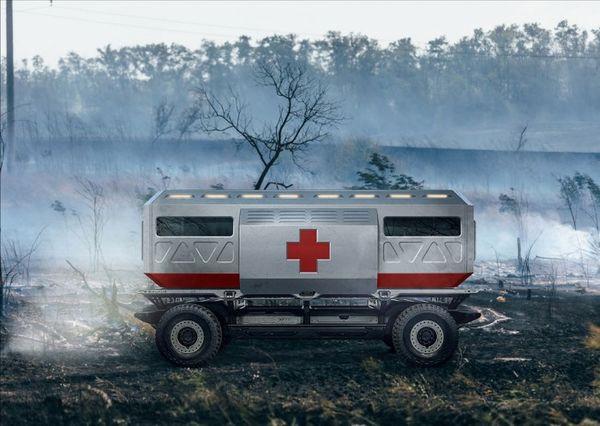 通用汽车向美军展示SURUS氢燃料电池车平台