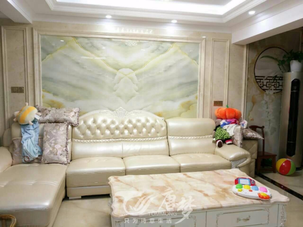有个设计师老公真好,纯欧式客厅设计,电视背景墙也是美的没话说_新浪