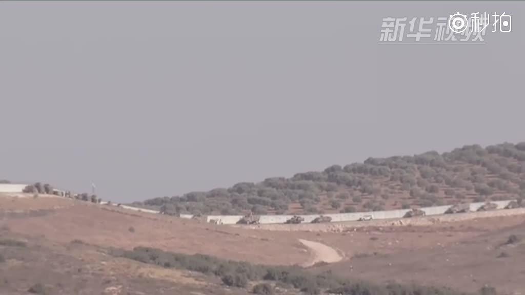 土耳其军队进入叙利亚执行侦察任务