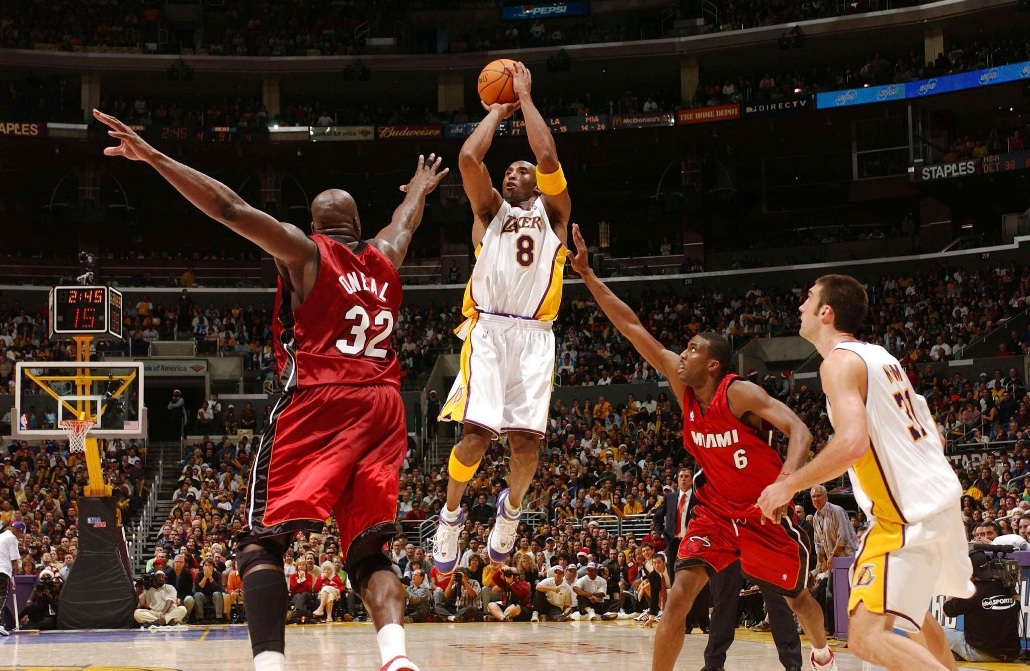 科比美如画,盘点NBA投篮姿势最帅的球员,一名中国人上榜!