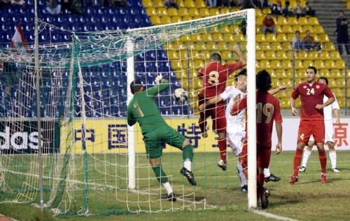 用手进球, 国足争议中挺进这一届亚洲杯