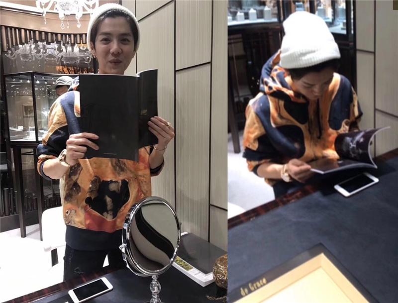 鹿晗被拍到买戒指再引热议 网友:难道是好事近了?