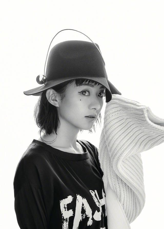 赵丽颖蜕变成时尚女王,圆脸姑娘原来可以这么酷!