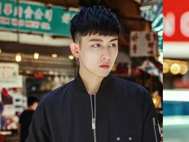男生两边剃短齐刘海发型,帅气又修颜!图片