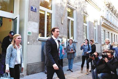 """奥地利政坛""""小鲜肉""""角逐总理 若胜选将成欧洲最年轻领导人之一"""