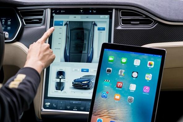 用中控屏打王者荣耀,车载互联真是娱乐系统吗?