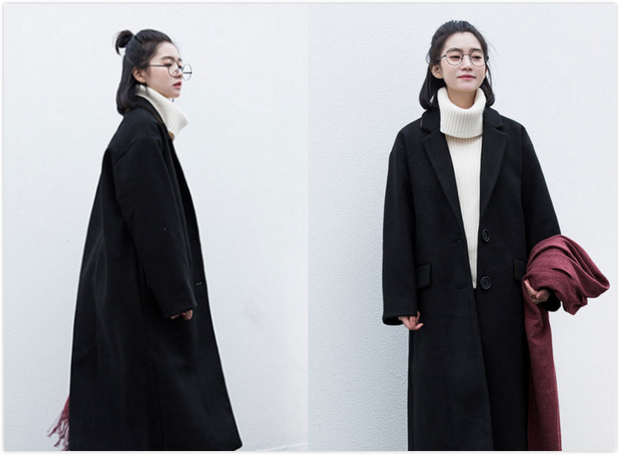 1,韩式无刘海直发发型:浅棕色的长直发自然垂散在肩上,散发出优雅的图片
