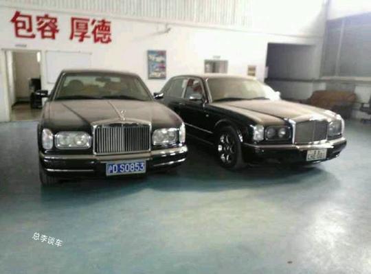 700多万的劳斯莱斯挂白牌,深圳仅有2辆,这样的豪车很难遇到了