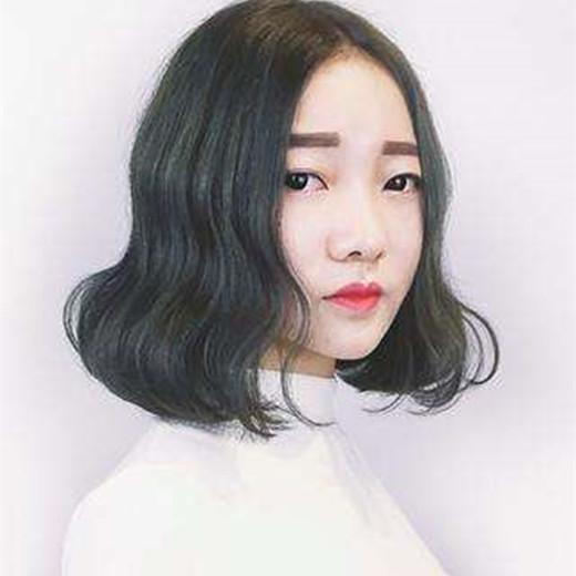 中分短发烫发韩范图片 全是韩国小姐姐大爱款图片
