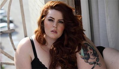250斤超大号模特泳装大片尽显自信 但过度肥胖令粉丝