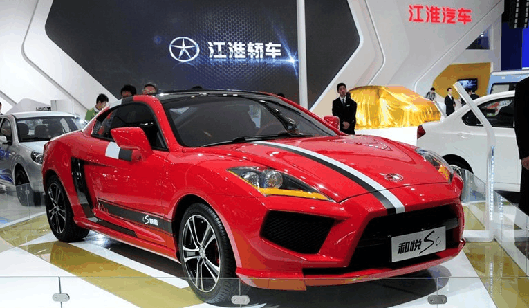 卖10万元的江淮跑车, 众泰都服了