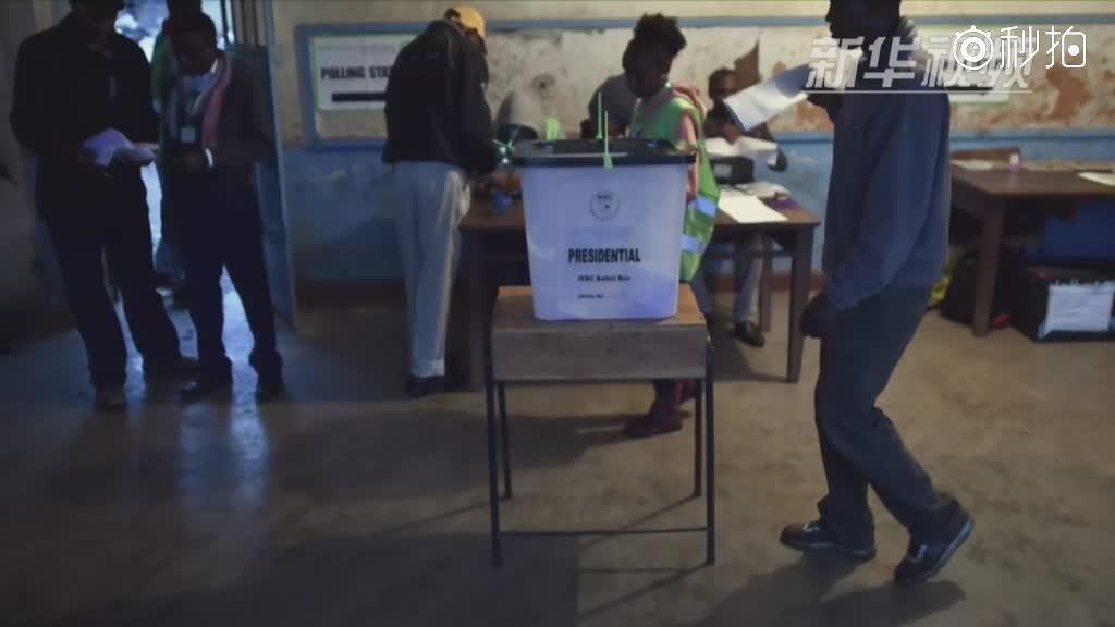 肯尼亚重新举行总统选举