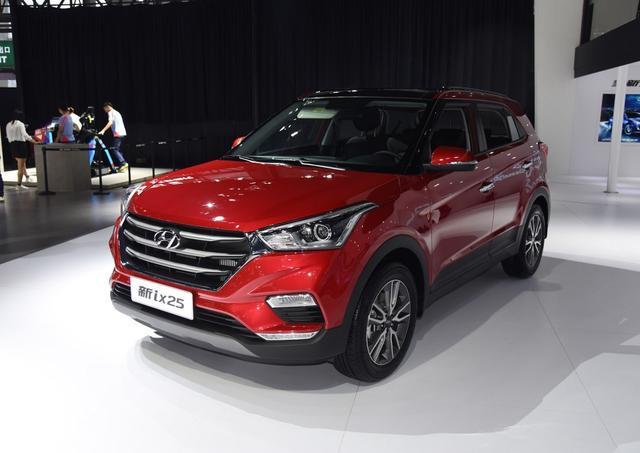 全新北京现代新款ix25,外观漂亮,动力更强劲,价格亲民