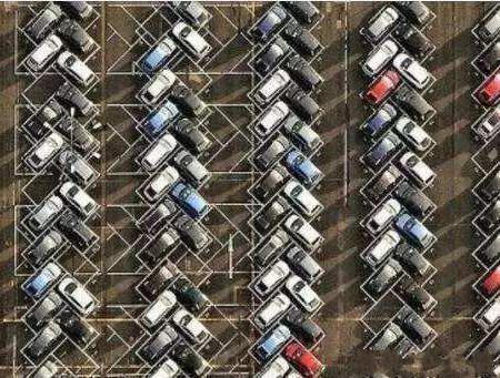 看完日本人设计的停车位后,真替中国的停车位着急!图片
