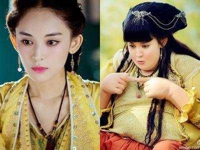 最丑女演员赵丽颖_盘点那些长相不差, 却出演丑女的女星, 赵丽颖,迪丽热巴都有2部