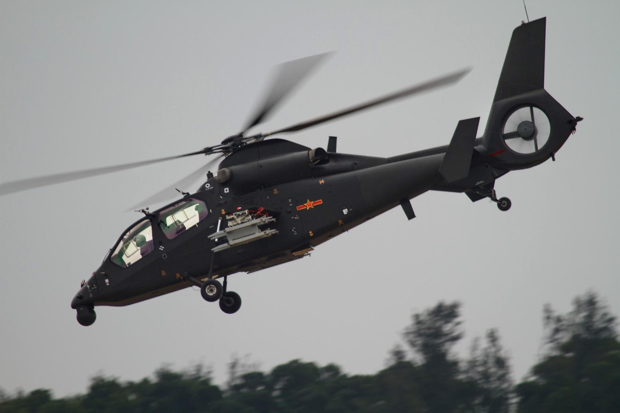 中国直升机数量_中国首款出口型直升机曝光,某些国家坐不住了