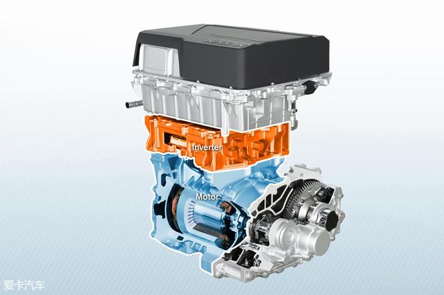 全新聆风虽然是全新设计的纯电动汽车,但是其结构与传统燃油车类似