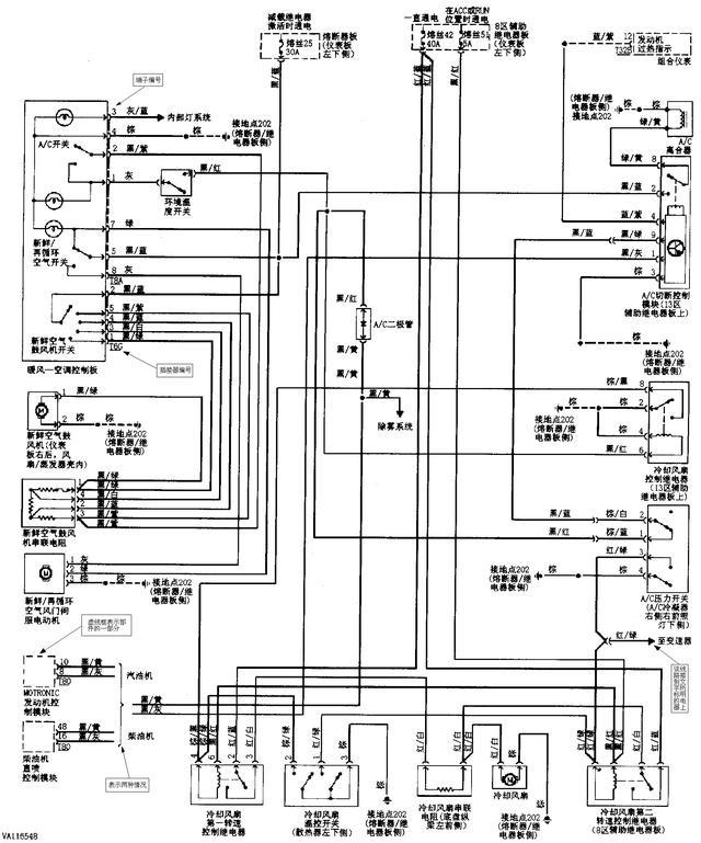 图注说明了该汽车所有电气设备的名称及其数码代号,通过读图注可以初步了解该汽车都装配了哪些电气设备。然后通过电气设备的数码代号在电路图中找出该电气设备,在进一步找出相互连线、控制关系。 汽车电路图是利用电气图形符号来表示其构成和工作原理的。因此,必须牢记电路图形符号的含义,才能看懂电路原理图。 3、熟记电路标记符号 为了便于绘制和识读汽车电器电路图,有些电器装置或其接线柱等上面都赋予不同的标志代号。 4、牢记汽车电路特点 汽车电路的特点是: 单线制 负极搭铁 用电设备并联 5、牢记回路原则 任何一个完