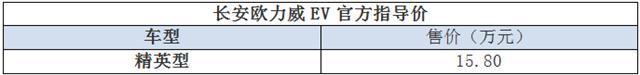长安这车配磷酸铁锂电池,续航里程200公里以上,卖15.8万