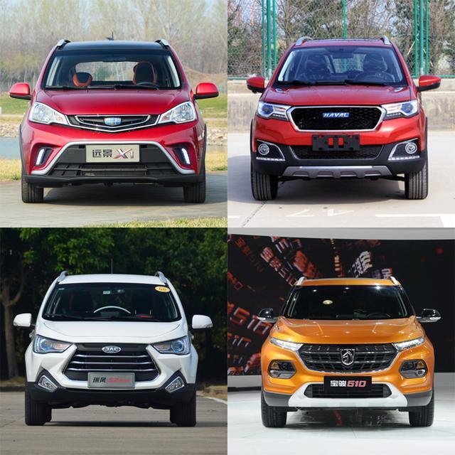 不止价格低 远景x1领衔4款高颜值小型SUV推荐